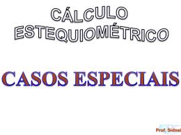 estequiometria-casos especiais