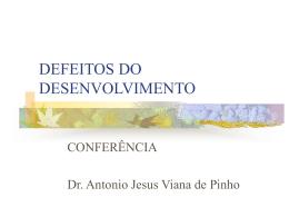 Conferência sobre defeitos do desenvolvimento