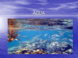 ÁGUA - Colégio Cor Jesu