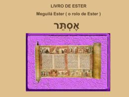 Livro de Ester - Comunidades.net