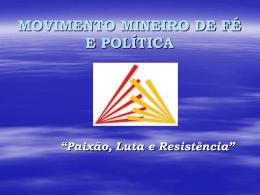 MOVIMENTO MINEIRO DE FÉ E POLÍTICA