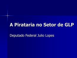A Pirataria no Setor de GLP
