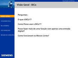 O que é BiCo
