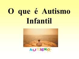 autismo infantil - Universidade Castelo Branco