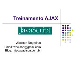 Treinamento AJAX (Módulo Java Script)