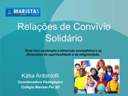 Relações e Convívio Solidário