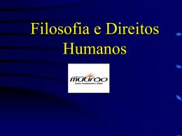 Filosofia e direitos humanos