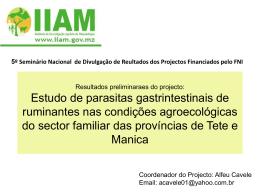 Apresentação5oSeminario2014 - FNI