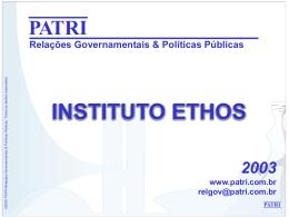 PATRI Relações Governamentais & Políticas