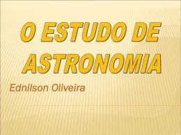 Professor Ednilson Oliveira