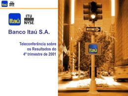 3,0% - Banco Itaú
