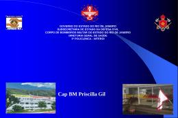 H1N1 - Cap Priscila Gil - 3ª Policlínica do CBMERJ