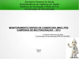 monitoramento rápido de cobertura (mrc)