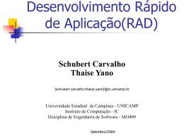 Slide 1 - Instituto de Computação