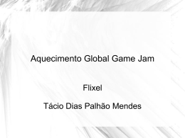 Guia rápido do Flixel - Global Game Jam em Curitiba