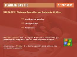 Sistema Operativo - Programa Prof2000