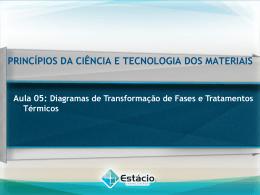 Diagramas de Transformação de Fases e Tratamentos Térmicos