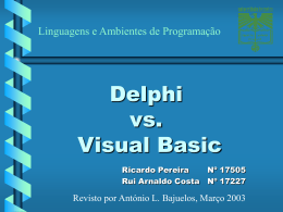 Delphi vs. Visual Basic