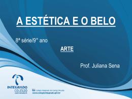 9° ano_A ESTÉTICA E O BELO