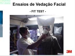 3ª encontro técnico do ano de 2008 - vedação facial