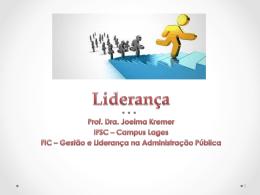 Comportamento Organizacional - Liderança_6 - Docente