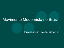 Movimento Modernista no Brasil