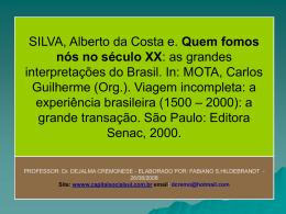 SEMANA DA ARTE MODERNA: (1922