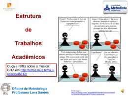 Oficina de Metodologia Professora Lana Santos