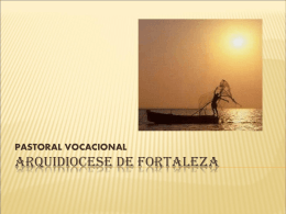Pastoral vocacional slides 2012