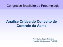 Análise Crítica do Conceito de Controle da Asma