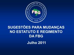 Art.30º Parágrafo único - Federação Brasileira de Gastroenterologia