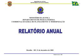 RA 2002 - Polícia Federal