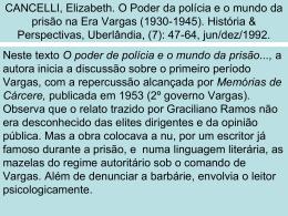 Apresentação E Cancelli.