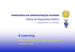 Ministério da Administração Interna Polícia de Segurança Pública