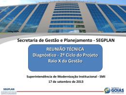 Raio X da Gestão em Goiás