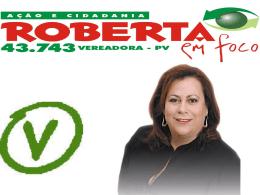 Ex-aluna Roberta Cappellano
