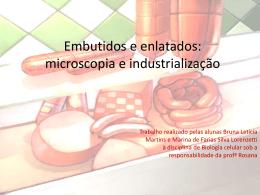 Embutidos: microscopia e industrialização