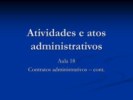 Aula_18 - Acadêmico de Direito da FGV