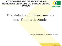 Blenda Leite Gestao - FUNDOS DE SAÚDE São Paulo