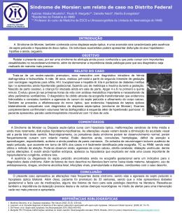 Sindrome de Morsier - Paulo Roberto Margotto