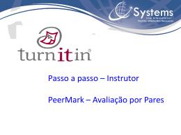 PeerMark - Avaliação por Pares