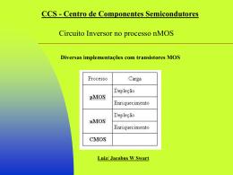 Inversor - Centro de Componentes Semicondutores