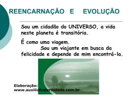 Reencarnação e Evolução