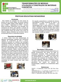Poster__transformações de medidas_utilização e construção