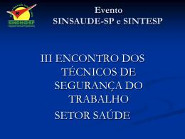 Slide 1 - Sindhosp