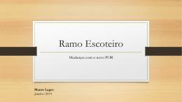 Ramo Escoteiro - Grupo Escoteiro Caramuru / SP