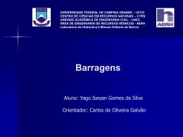 Barragens - Área de Engenharia de Recursos Hídricos