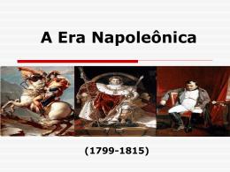 A Era Napoleonica