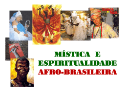 MÍSTICA E ESPIRITUALIDADE AFRO
