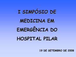 Abordagem do Paciente Psiquiátrico na Emergência